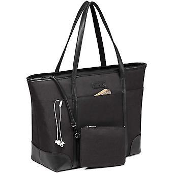 HanFei Laptop Damen Handtasche, Gro 15.6-17 zoll Notebooktasche Wasserabweisend Laptop Tasche ShHanFei
