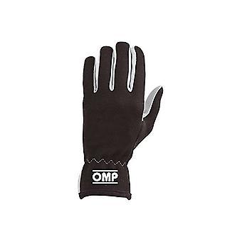 メンズ ドライビング グローブ OMP ラリー ブラック