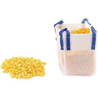 HanFei 5595 - Gelbes Granulat mit Big-Bag, Kunststoff, Vielseitig, 150g Schttgut, gelb