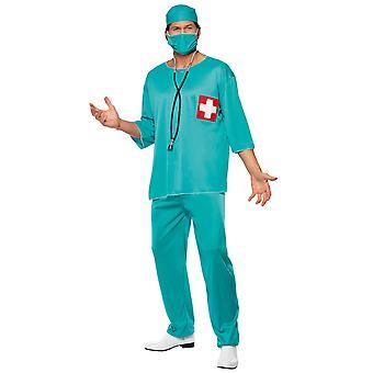 Déguisement chirurgien urgentiste homme
