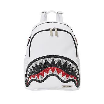 Sprayground Trinity Crystal Savage Backpack White