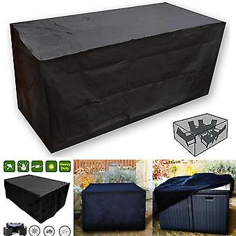 Waterproof Rattan Cube Outdoor Garden Table Set Cover Protection
