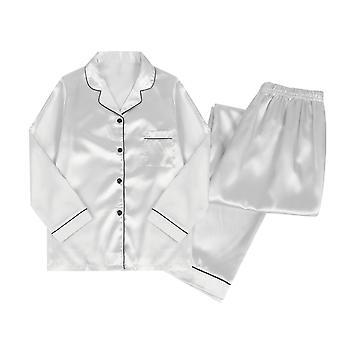 YANGFAN γυναικείες πιτζάμες που τίθενται μακρυμάνικα sleepwear τοπ και σύνολο παντελονιών