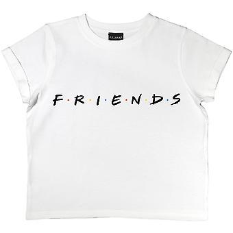 Friends Girls Logo Crop T-Shirt