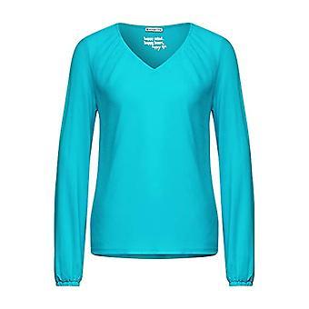 Calle uno 315919 camiseta, Aqua brillante, 42 Mujer
