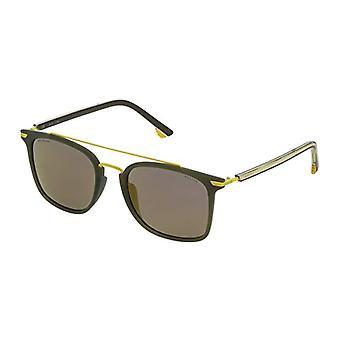 Police SPL58354736G Sonnenbrille, Grün, 54.0 Unisex-Erwachsene