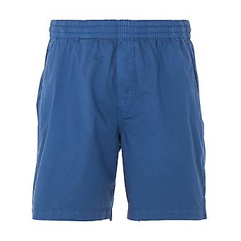 Farah Redwald Drawstring Waist Shorts - Cold Metal Blue