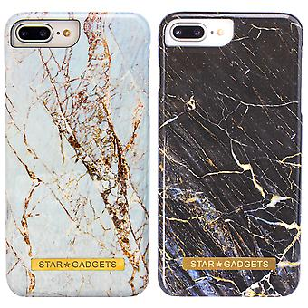Iphone 7 Plus / 8 Plus - Shell / Protection / Marbre