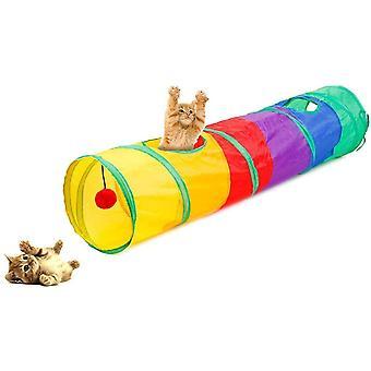 Katzen Hunden Spielzeug, Katzenspielzeug Hundenspielzeug Haustier Kleintier Spiel Tunnel