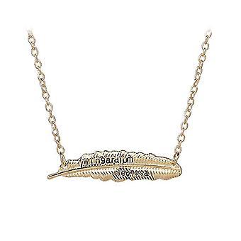 Potter Wingardium Leviosa Women's Feather Necklace
