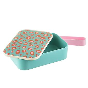 Sass & Belle Leopard Love Bamboo Lunch Box