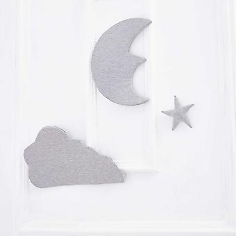 Moon Star Cloud -vuodevaatteet, puskurin ripustusrekvisiitta