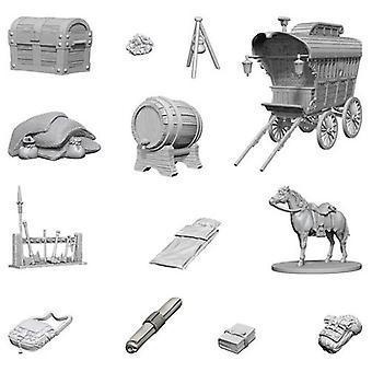 Avonturierscamping: D&d Nolzur's prachtige ongeverfde miniatuur (W4)