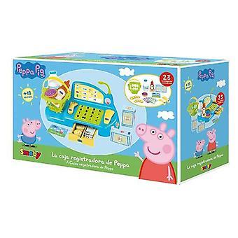 Lelu kassakone Peppa Pig Simba Plastic (23 kpl)