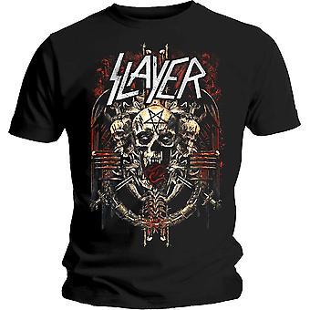 Slayer - Camiseta Demoníaca Admat Unisex Medium - Negro
