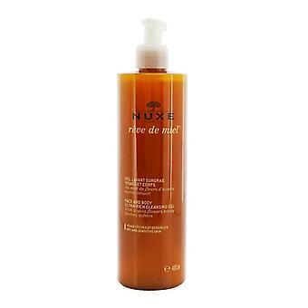 Nuxe Reve De Miel Face & Body Ultra-Rich Cleansing Gel (Dry & Sensitive Skin) 400ml/13.5oz