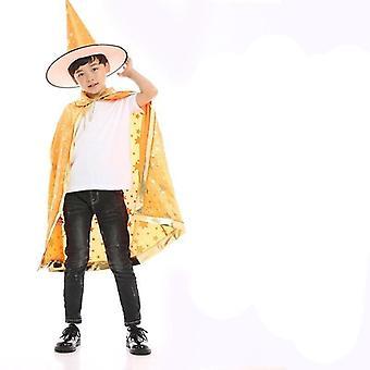 Børns Halloween Kappe Cosplay Kostume