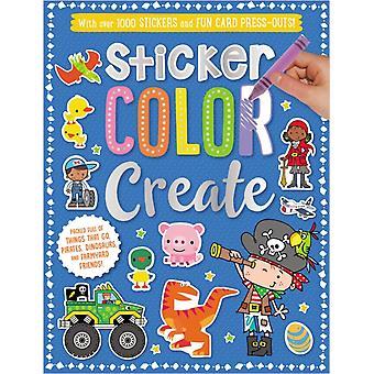 Sticker Color Create by Ltd Make Believe Ideas