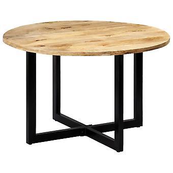 vidaXL طاولة الطعام 120 × 73 سم المانجو الخشب الصلب