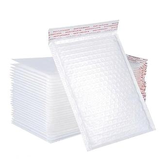 50pcs Useful Bubble Mailing Bag Shockproof Packaging Bag Storage Pouch (white)