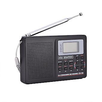 أجهزة الراديو المحمولة استقبال التردد الكامل راديو المنبه