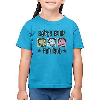 Betty Boop Fan Club Kid's T-Shirt
