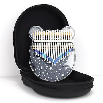 Kalimba Peukalo piano kristalli sateenkaari soittimet