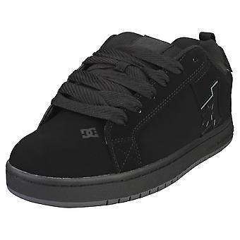 DC Shoes Court Graffik Mens Skate Trainers en Noir