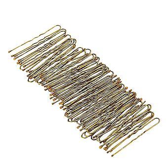 300pcs Gouden Bobby Pins Dunne U Vorm Hairpins Vrouwen Haar clips