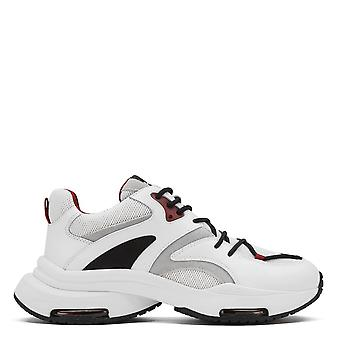 Ash ONO Trainers White And Burgundy