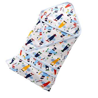 Uusi vauvan neulottu makuupussi
