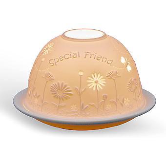 Valo hehku kupoli teevaloteline, erityinen ystävä