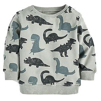 Boys Hoodies Animal Pattern Autumn & Winter Outwear Sweatshirts