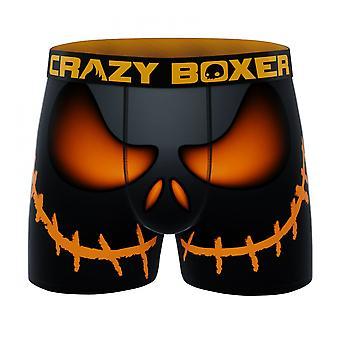 Crazy Boxer Halloween Smile Miesten bokserit