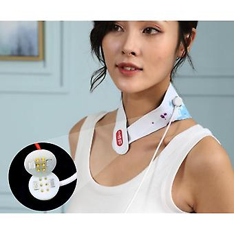 Neck And Shoulder Graphene Far-infrared Heat Compress Intelligent Cold-proof Infrared Physiotherapy Computerized Cervical Spine And Neck Massager