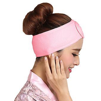 Naiset Headband Head Wrap Meikki Hiukset Bändi Salon Spa Kasvojen Hiuspanta