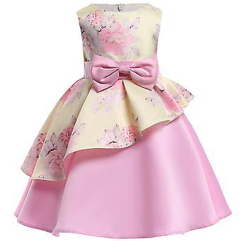 Baby Girls Princess Bridesmaid Tutu Tulle Gown