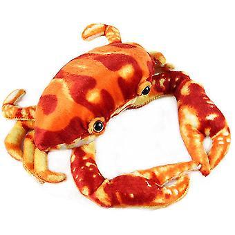 fylt dyr rød krabbe plysj leketøy realistisk dukke baby
