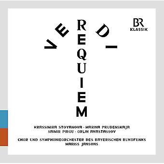 Verdi / Jansons / Stoyanova / Bavarian Radio Sym - Messa Da Requiem [CD] USA import