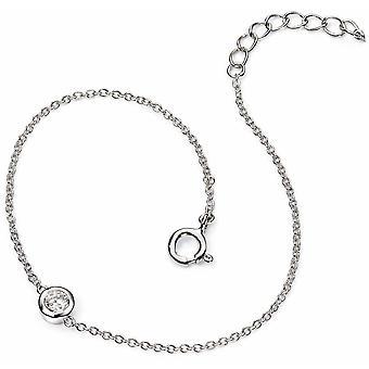 925 braccialetto d'argento zirconio