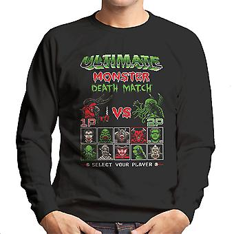 Ultimate Monster Death Match Darkness vs Cthulhu Men's Sweatshirt