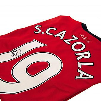 Arsenal Cazorla Signed Shirt