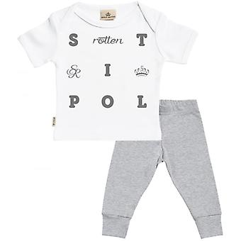 Spoilt Rotten Spoilt Baby T-Shirt & Baby Jersey Trousers Outfit Set