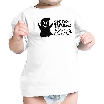 شبح-تاكولار بو الزي هالوين بابيس طفل لطيف المحملة القميص الأبيض