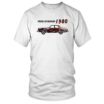 Ford Granada 80s Classic Car Mens T Shirt