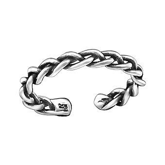 Αλυσίδα-925 ασήμι στερλίνας δαχτυλίδια ποδιού-W29392X