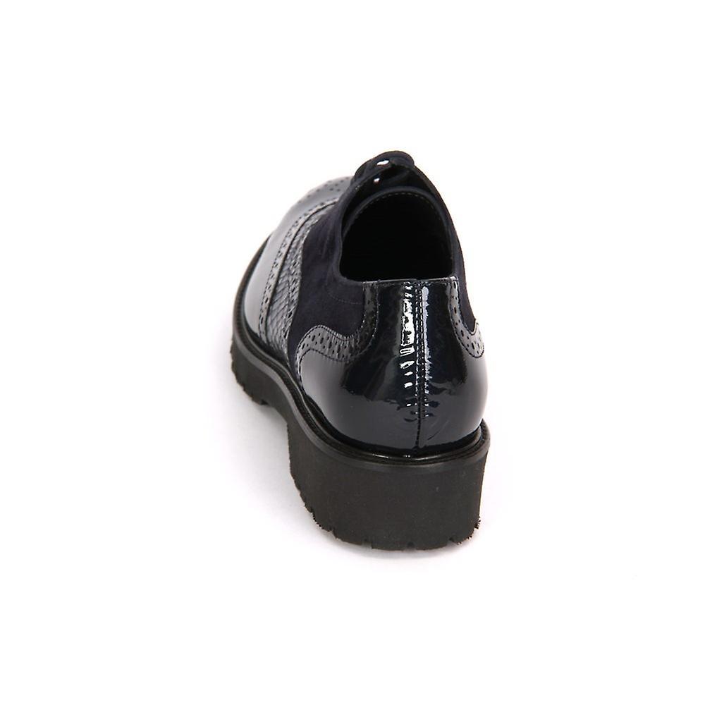 Semler Elena Midnightblue Kalblack Viper Samtchevreau E8223691080 ellegant hele året kvinner sko