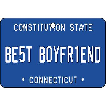 Connecticut - Best kjæreste nummerskilt bil Air Freshener