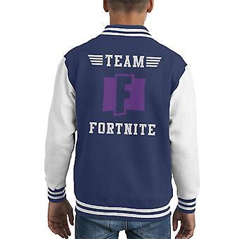Team Fortnite Kid's Varsity Jacket