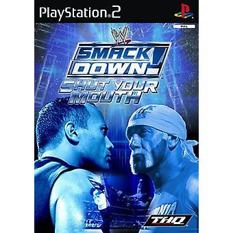 WWE Smackdown stäng munnen (PS2) - Ny fabrik förseglad